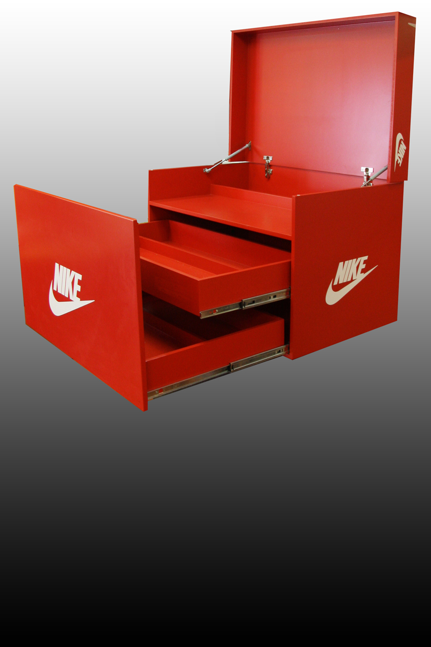 Mueble exclusivo nike my cms for Ofertas de muebles zapateros